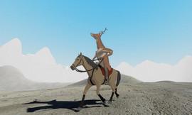 沙雕鹿模拟器:一款非常普通的鹿游戏