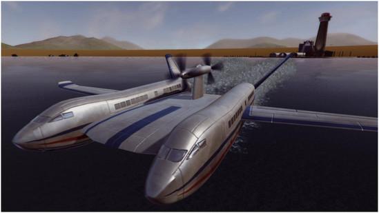 苏联地效飞行器:超真实的飞行模拟器游戏
