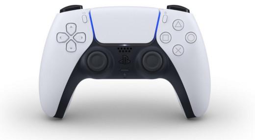 PS5手柄外观图片预览:双色调设计更加简约大方!