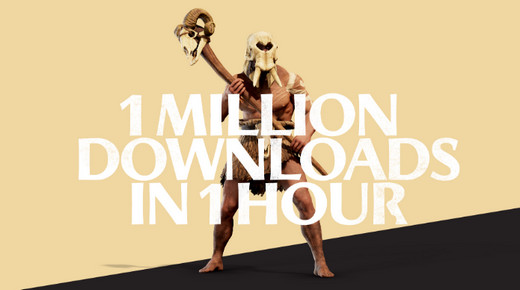 全面战争特洛伊Epic免费领:下载量迅速破百万!